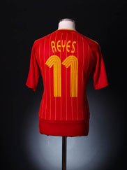 2006-08 Spain Home Shirt Reyes #11 M