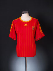 2006-08 Spain Home T-Shirt XL