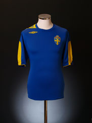 2006-08 Sweden Away Shirt M