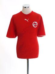 2006-08 Switzerland Home Shirt *Mint* M