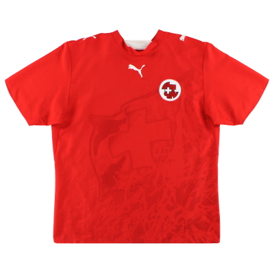 2006-08 Switzerland Home Shirt S