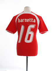 2006-08 Switzerland Home Shirt Barnetta #16 S