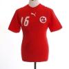 2006-08 Switzerland Home Shirt Barnetta #16 S