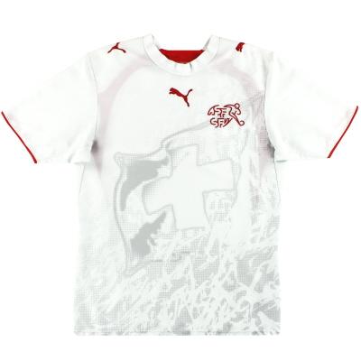 2006-08 Switzerland Puma Away Shirt S