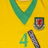 2006-08 Wales Player Issue Away Shirt #4 *BNWT* L/S XL