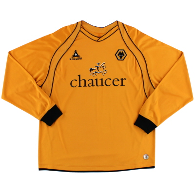 2006-08 Wolves Home Shirt #25 L/S XL