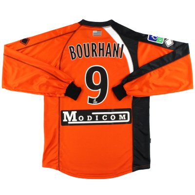2006 FC Lorient Errea Match Issue Home Shirt Bourhani #9 L/S XXL