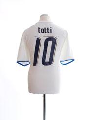 2006 Italy Away Shirt Totti #10 XL