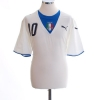 2006 Italy Away Shirt Totti #10 XL