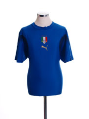 2006 Italy Home Shirt L