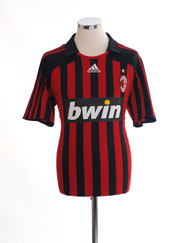 2007-08 AC Milan Home Shirt L