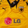 2007-08 AEK Athens Home Shirt *As New* XL