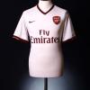 2007-08 Arsenal Away Shirt Sagna #3 XL