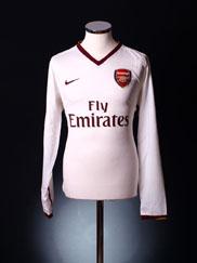 2007-08 Arsenal European Player Issue Away Shirt L/S *BNIB* L