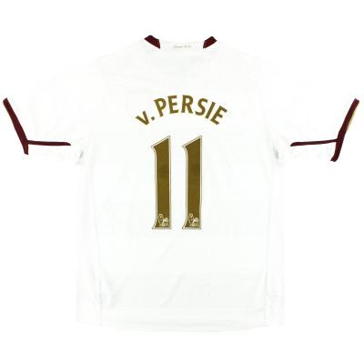 2007-08 Arsenal Nike Away Shirt v.Persie #11 XL