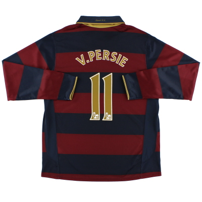 2007-08 Arsenal Third Shirt v.Persie #11 L/S L