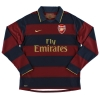 2007-08 Arsenal Third Shirt v.Persie #11 L/S M