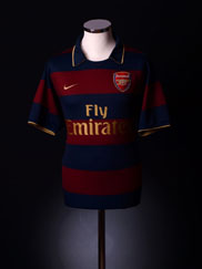 2007-08 Arsenal Third Shirt XS.Boys