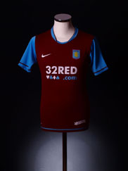 2007-08 Aston Villa Home Shirt XL