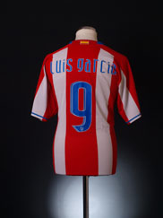 2007-08 Atletico Madrid Home Shirt Luis Garcia #9 XL