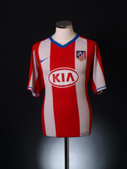 2007-08 Atletico Madrid Home Shirt XL.Boys