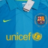 2007-08 Barcelona Away Shirt *w/tags* L