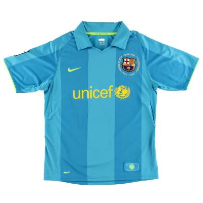 2007-08 Barcelona Away Shirt
