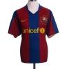 2007-08 Barcelona Home Shirt Henry #14 M