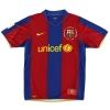 2007-08 Barcelona Nike Home Shirt Ronaldinho #10 L.Boys