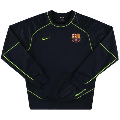 2007-08 Barcelona Nike Training Top S
