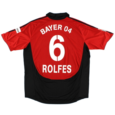 2007-08 Bayer Leverkusen Match Issue Rolfes #6 XXL