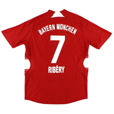2007-08 Bayern Munich adidas Home Shirt Ribery #7 XL.Boys