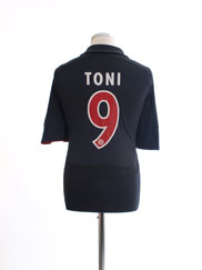 2007-08 Bayern Munich European Shirt Toni #9 L