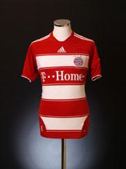 2007-08 Bayern Munich Home Shirt S