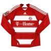 2007-08 Bayern Munich Home Shirt Klose #18 L/S S