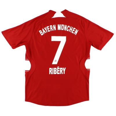 2007-08 Bayern Munich Home Shirt Ribery #7 XL