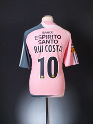 2007-08 Benfica Away Shirt Rui Costa #10 *BNWT* XL