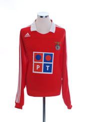 2007-08 Benfica Home Shirt L/S *w/tags* L