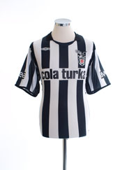 2007-08 Besiktas Home Shirt M
