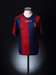 2007-08 Bologna Home Shirt L