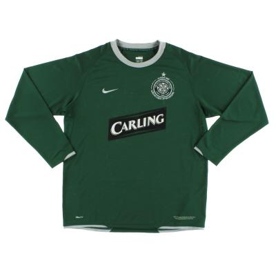 2007-08 Celtic Away Shirt L/S L