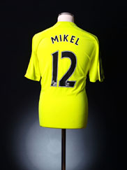 2007-08 Chelsea Away Shirt Mikel #12 *BNWT* M
