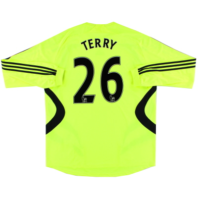 2007-08 Chelsea Away Shirt Terry #26 L/S XL