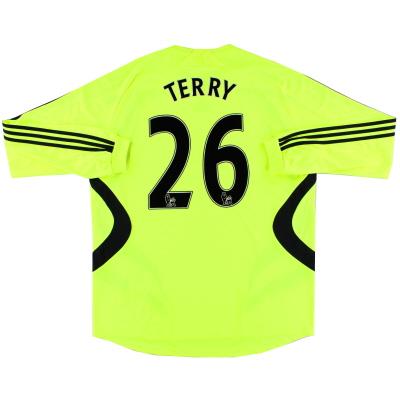 2007-08 Chelsea Away Shirt Terry #26 L/S XL