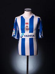 2007-08 Deportivo Home Shirt M