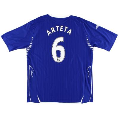 2007-08 Everton Home Shirt Arteta #6 XL