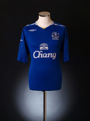 2007-08 Everton Home Shirt XL