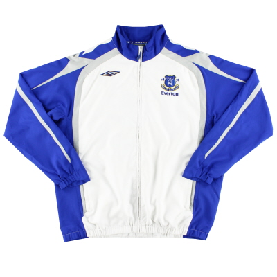 2007-08 Everton Umbro Track Jacket XXL