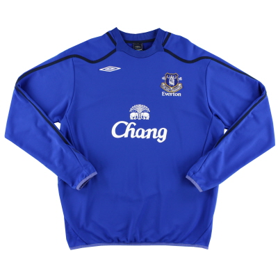 2007-08 Everton Umbro Training Top XXL