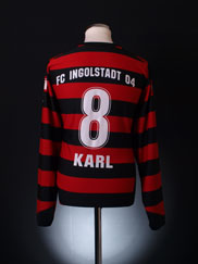 2007-08 FC Ingolstadt Match Issue Home Shirt Karl #8 *Mint* XL